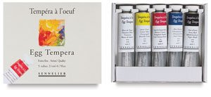 - Sennelier Artist Egg Tempera Set Of 5
