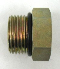 AF 6410-06-04-3/8 Male O-ring Boss (9/16''-18 Threads) X 1/4 Female O-ring Boss (7/16''-20 Threads)