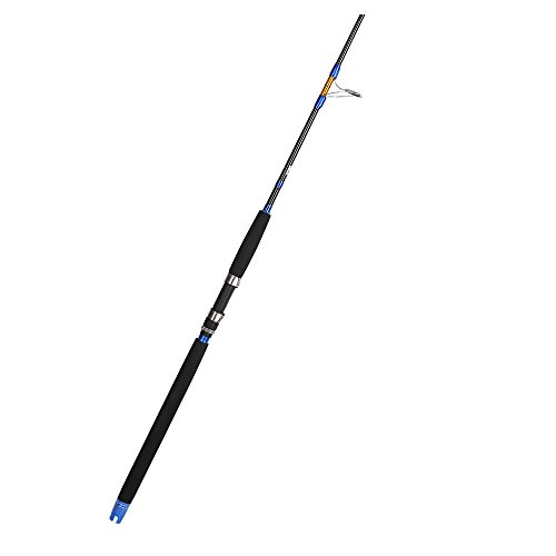 Fiblink 1-Piece 5'6¡± Saltwater Jigging Spinning Rod Graphite Heavy Boat Fishing Rod (30-50lb)