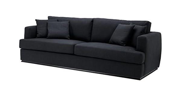 Casa-Padrino sofás Hotel de Lujo Negro 234 x 103 x H. 86 cm ...