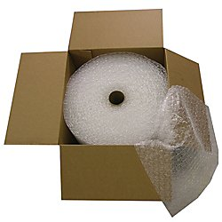 Office Depot Bubble Roll, Extra-Wide, 5/16in. Thick, Clear, 24in. x 125ft, 36008-OD