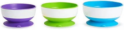 Save on Munchkin Three Stay Put Suction Bowl and more