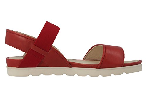 Josef Seibel - Sandalias de vestir de Piel para mujer Rojo rojo