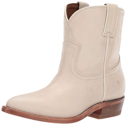 FRYE Women's Billy Short Ankle Boot Off White 7 M US