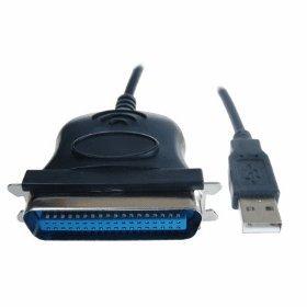 Cable de impresora Centronics (de USB a paralelo, 36 pines ...
