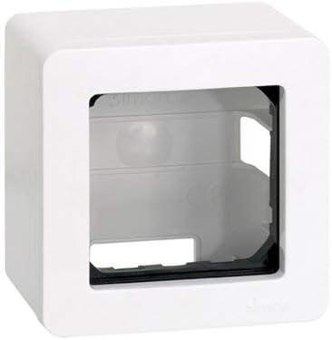 Caja de superficie para 1 elemento Simon 27 Play Blanco: Amazon.es ...