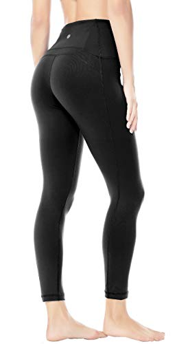 1e94b49cdf QUEENIEKE Queenie Ke Women Yoga Leggings Ninth Pants Power Flex Mid Waist  Running Gym Tights Size