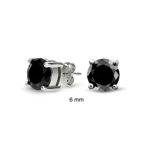 bling-jewelry-mens-unisex-cz-round-black-stud-earrings-sterling-silver-6mm