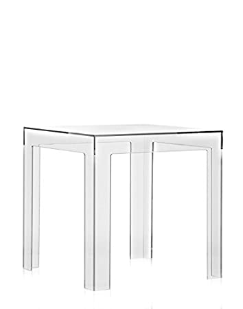 Kartell Jolly Side Table U2013 Clear (Transparent) Paolo Rizzatto Polycarbonate Transparent  Coffee Table U2013