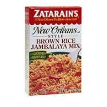Zatarains New Orleans Dirty Trio Jambalaya Brown Rice , 24 Ounce -- 4 per case.
