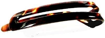 【べっ甲の菊池】本べっ甲髪飾り 髪留め バレッタ94【大特価】 【全商品セール中】