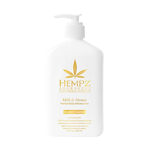 Hempz Milk and Honey Herbal Body Moisturizer, 17 Ounce by Hempz