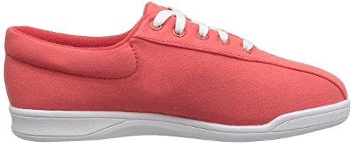White Fabric Shoe Red Women's Ap1 Walking Spirit Easy wx08Yqn