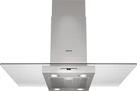 Siemens LF98GA540 - Campana (Recirculación, 700 m³/h, 70 Db, Montado en pared, Halógeno, Acero inoxidable): Amazon.es: Hogar