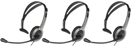 - Panasonic KX-TCA430 Over the Head Headset (3-Pack)