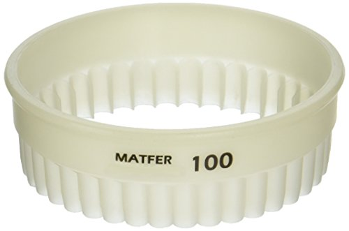 Matfer Bourgeat 150125 Exoglass Round Fluted Cutters