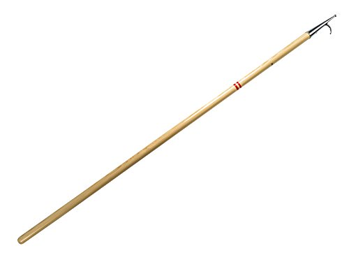 Holz Bootshaken - Länge 180 cm fur Segel, Booten, Yachten - Eco, Profi, Classik, Traditionell, Exklusiv