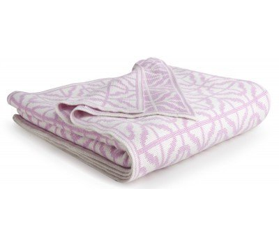 CoCaLo Bamboo Baby Knit Stroller Blanket (Pink & - Baby Pink Cocalo Blanket