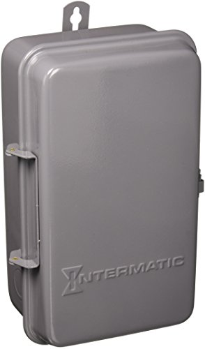 Intermatic T104R 208-277-Volt DPST 24 Hour Mechanical Time Switch with Outdoor Case (Mechanical Dpst Time Switch)