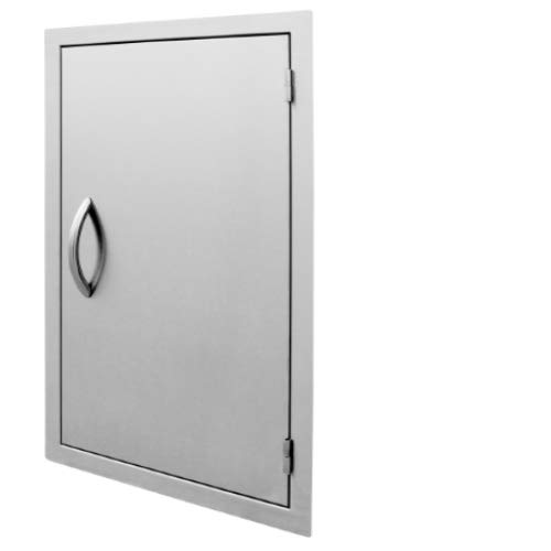 Cal Flame 089245002529 20 Inch Outdoor Single Access Door, Stainless Steel