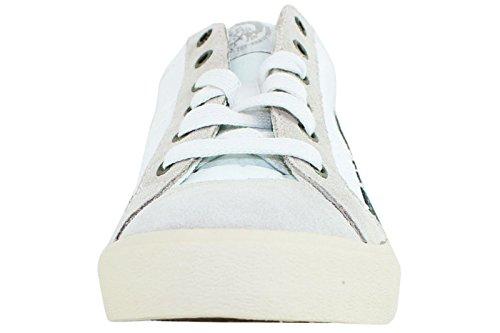 Diesel Herren Freizeitschuhe Tennisschuhe D-String Low Fashion Sneakers Weißer Paloma Indien
