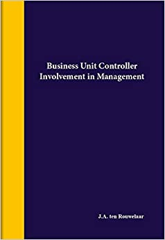 Business unit controller: involement in management