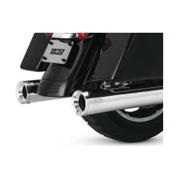 Vance & Hines 17-19 Harley FLHX2 Eliminator 400 Slip-On Exhaust (Chrome  with Chrome Tips)