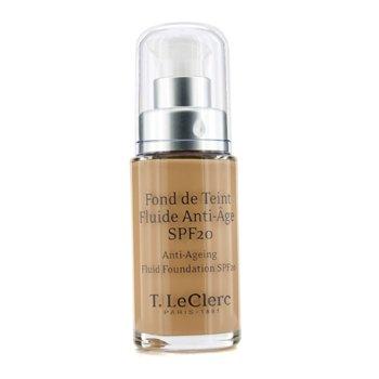 T. LeClerc Anti Ageing Fluid Foundation SPF 20 (Bottle) - # 04 Beige Abricot Satine 30ml/1oz
