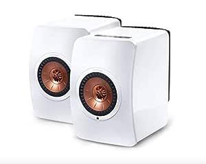 KEF LS50 Cobre, Color blanco altavoz - Altavoces (2.0 canales, Inalámbrico y alámbrico, 40 - 47000 Hz, cobre, blanco)