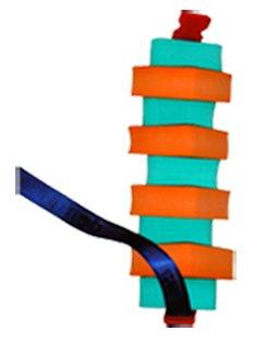 Babysplash - Flotador de tipo burbuja para adultos (cinturón de 130 cm ajustable) Adecuado para clases de natación. Cantidad de ayuda ajustable.