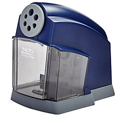 X-ACTO School Pro Classroom Electric Pencil Sharpener, Blue, 1 Count (1670) Point Pencil Case