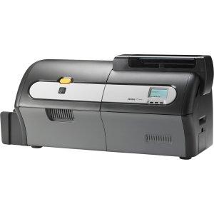 200 Card Hopper (Zebra ZXP Series 7 Dye Sublimation/Thermal Transfer Printer - Color - Desktop - Card Print - Auto Feed - 200 Card Feeder, 15 Card Reject Hopper, 100 Card Output Hopper - 2.6 Second Mono - 12 Second Color - 300 dpi - USB - Ethernet - LCD - Z72-AM0C0000US00)