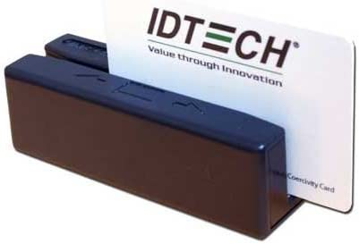 Id Tech SECUREMAG,USB//KBD,3TRK,ENCRYPT Black 148937