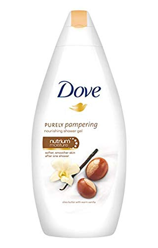 Dove Body Wash With Shea Butter And Warm Vanilla 500ml (Pack of 1)