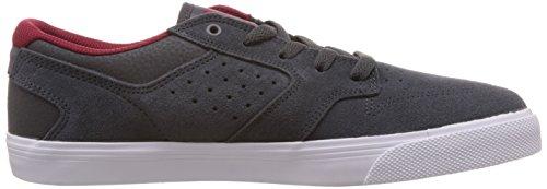 DC Shoes Nyjah Vulc, Scarpe Alte da Ginnastica da Uomo Grigio (Grau (Dark Shadow))