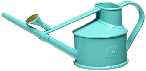Haws Handy Indoor Plastic Watering Can, 1 US pint, Teal ()