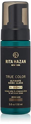 Rita Hazan Ultimate True Color Shine Gloss with New Package Design, Brown, 5 oz.