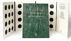 Littleton Blank Coin Folder for U.S. Half Dollars LCFHD by Littleton
