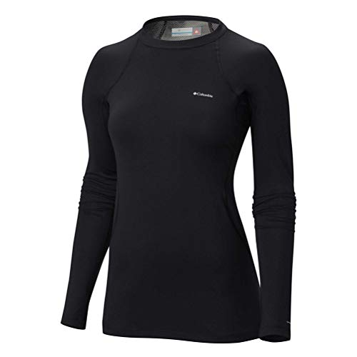 Columbia Women's Midweight Stretch Long Sleeve Top Black Small
