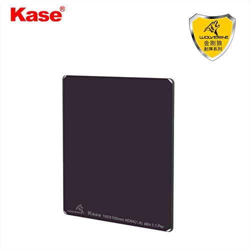 Kase Wolverine Slim 1.1mm Shockproof 100mm ND64 Filter Neutral Density 6 Stop Optical Glass 100 ND