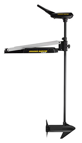 "MinnKota Edge 45 Bowmount Hand Control Trolling Motor with Latch and Door Bracket (45lbs thrust, 45"" Shaft)"