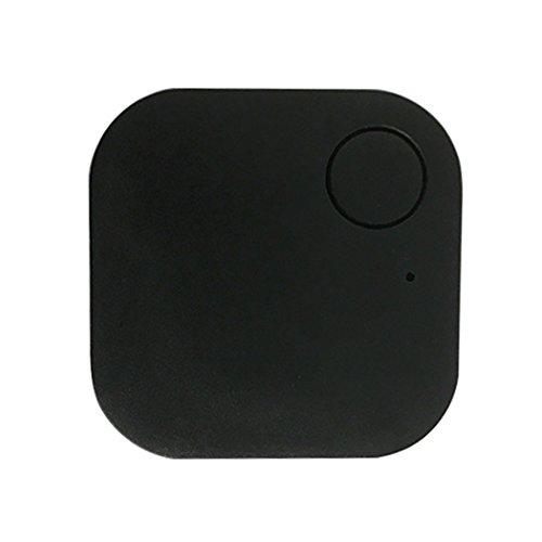 IEnkidu Car GPS Tracker Kids Pets Wallet Keys Alarm Locator Realtime Finder Tracker (Black)