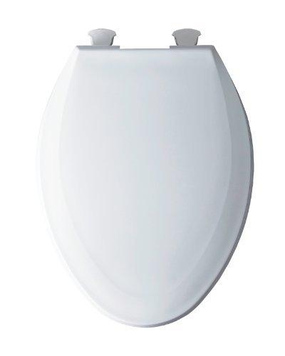 Astounding Bemis 1100Ec000 Plastic Elongated Toilet Seat With Easy Dailytribune Chair Design For Home Dailytribuneorg