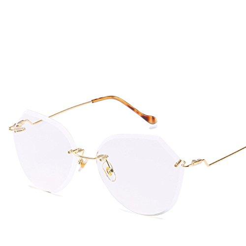 Visor Dama De Gafas Marco Sol Playa Sol Sin No3 Oceánica Gradiente Poligonal Viaje NO4 Película Gafas De RinV qZP4nxdq
