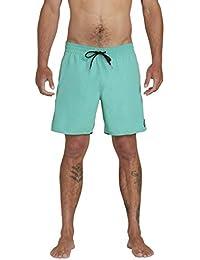 "Men's Lido Solid 16"" Swim Surf Trunk"