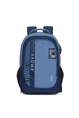 Skybags Beatle 01 27 Ltrs Blue Casual Backpack (Beatle 01)
