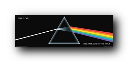 (Pink Floyd - Dark Side of the Moon Poster 36 x 12in)