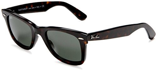 Ray-Ban RB2140- Tortoise Frame/Crystal Green Lens, 50 MM Non-Polarized Sunglasses by Ray-Ban