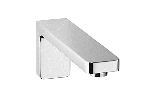 (Dornbracht wall-mounted basin spout. LULU 13800710 chrome )