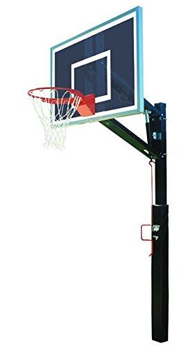 Bison Smoked Lottery Pick取り外し可能調節可能なバスケットボールフープ B004USF1PW